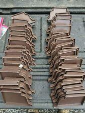 Lot Of 72 -Billy Penn Inc 00861 Gutter End Caps 5 Inch Aluminum Brown (39L, 33R)