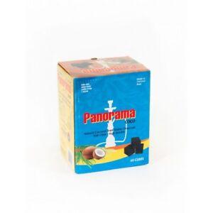 PANORAMA COCONUT CHARCOAL CUBES. FOR SHISHA HOOKAH BBQ COAL