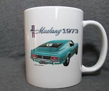 1973 Ford Mustang SportsRoof Coffee Cup, Mug - New - 70's Classic - Sharp!