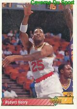 166 ROBERT HORRY HOUSTON ROCKETS CARD CARTE BASKETBALL NBA 1993 UPPER DECK