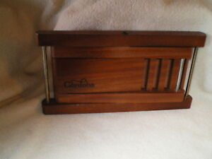 Cordoba Adjustable Wood Shelf w/Stainless Connectors, For Bar/Kitchen/Sideboard