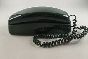 Vintage AT&T Trimline 210 Dark Green Corded Phone, Tested & Works Great!