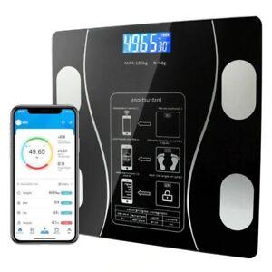 Digital Wireless Bathroom Body Fat Scale 180KG Bluetooth Scale Weight BMI Water