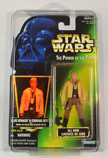 Luke Skywalker in Ceremonial Outfit Star Wars POTF2 .01 Green Card with PROTECH
