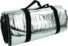 New Highlander Padded Reflective Thermo Body Heat Survival Blanket Men Silver