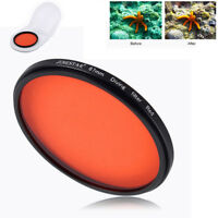 Top 67mm Full Color Red Filter DIVE for Camera Lens Conversion with thread mount
