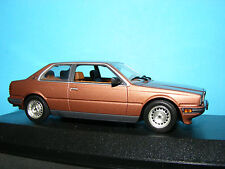 Maserati Bi Turbo in Golden Bronze with matching interior Minichamps   1:43 NLA
