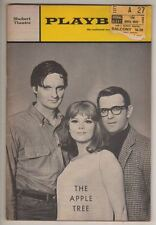 """The Apple Tree"" OPENING NIGHT  Playbill 1966  Alan Alda, Barbara Harris TICKET"