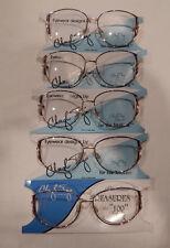 Vintage 5 pc. Cheryl Tiegs CT-106 D. Blue 52/13 Eyeglass Frame Lot New/Old Stock