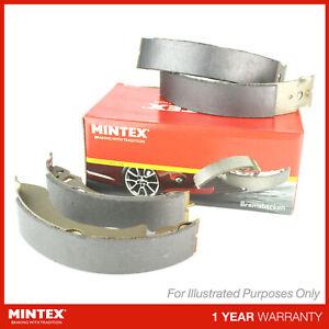 NEW MINTEX REAR BRAKE SHOE SET - MFR281