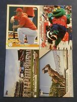 2020 Topps Opening Day Inserts Mascots Traditions Celebrations Spring U Pick