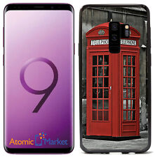 British Telephone Booth For Samsung Galaxy S9 Plus + 2018 Case Cover