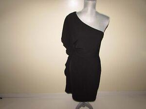 White House Black Market Mujer Funda Vestido Talla 6 Nwt Asimétrico Volantes
