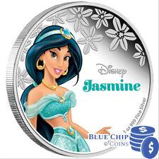 2015 $2 Disney Princess Jasmine 1oz Silver Proof Coin