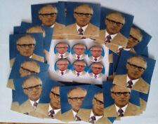 1x Erich Honecker Button + 25 Aufkleber DDR SED Ossi Marx Socialism KPD DKP RASH