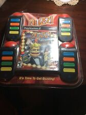 BUZZ Hollywood Quiz FOR PLAYSTATION 2 w/ 4 Buzzers NEW FACTORY SEALED