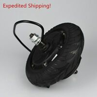 "Electric Scooter Hub Wheel Motor 350W 24/36/48V DC Brushless Toothless 8"" Wheel"