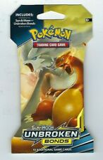 POKEMON TCG SUN & MOON UNBROKEN BONDS BOOSTER PACK 10 CARDS PER PACK SEALED