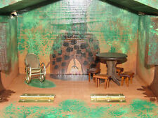 Boys & Girls Wooden Treehouse Troll House Play Set Hand Made OOAK Orig