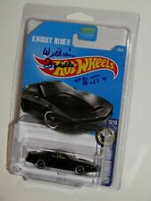 "COOL!! WILLIAM DANIELS SIGNED ""KNIGHT RIDER"" ""K.I.T.T."" HOT WHEELS CAR + CASE"