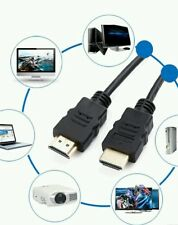 5M HDMI HD 1080P versión 1.4 Extra Larga Oro Plomo Tv Cable para PS3/4 Sky TV 3D