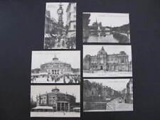 Amiens 6 old Postcards La Rue de Dom etc