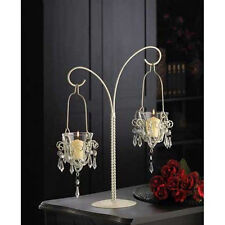 NEW 10 WHITE CANDLE HOLDERS,METAL,WEDDING GIFT,CENTERPIECES~WHOLESALE LOT $250.