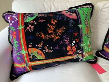 VERSACE for H&M BRAND NEW NWT cushion pillow cotton velvet oriental printed