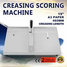 "19"" Scoring Paper Creasing Machine Folding Machine Creaser Manual Terrific Value"