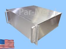 4U DIY All Aluminum Par Metal Rackmount Chassis Enclosur 14-19164N EMI/RF Shield