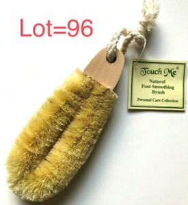 LOT 96 Natural Foot Smoothing DRY Brush Pedicure Scrub Pumice Remove Callus