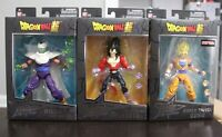 Bandai Dragon Ball Stars Wave 13 SSJ Goku, SSJ4 Vegeta, Piccolo Cape Ver.