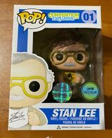 Stan Lee Signed Convention Exclusive Comikaze 16 of 25 01 Funko Pop- JSA BB99129