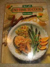 McCall's No Time To Cook, Meals In Minutes Cook Book - 1994