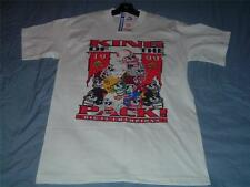 Huskers King of the Pack Big 12 Champions T-Shirt Adult Medium White NWT 1999