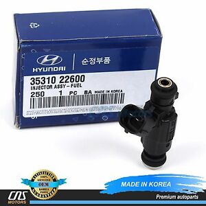 GENUINE Fuel Injector Fits 2000-2005 Hyundai Accent OEM 35310 22600⭐⭐⭐⭐⭐