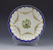 First Period Worcester Polychrome Fancy Bird Dish c.1775