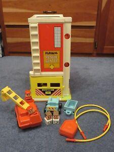 Vintage Playskool Rescue Center
