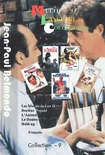Jean-Paul Belmondo. Collection 9. Multilanguage  French.  5 movies