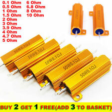 50W 0.1-10 Ohm Power Wirewound Resistor Inverter LED light Frequency Divider NHY