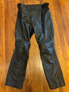 "Rev'it! Revit Women's ""Marryl"" Leather CE Armored Motorcycle Pants - 34 Waist"