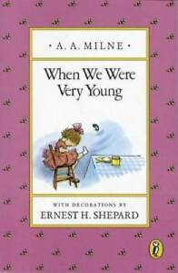 When We Were Very Young - Paperback By Milne, A. A. - GOOD