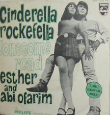 "ESTHER & ABI OFARIM   7"" BEAT ITALY 68 LONESOME ROAD -CINDERELLA ROCKEFELLA"