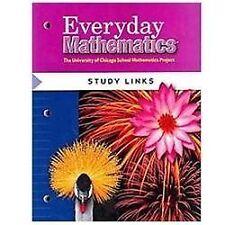 10-PACK - Everyday Mathematics, Grade 4 Study Links by Max Bell, Amy Dillard NEW