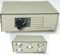 Maxxtro Data Switch 5 x vga  port 4 INGRESSI 1 COMUNICANTE HDD15-4