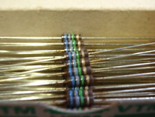 Rare! nostalgie résistance 6,8m Ohm 1/2w couche de charbon d3, 5x1mm 30x 24828