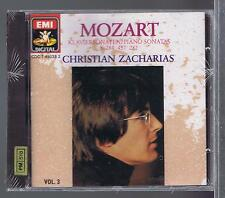 CHRISTIAN ZACHARIAS CD NEW MOZART VOL 3  SONATAS 14. 4 .6