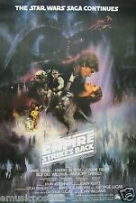 """STAR WARS """"THE EMPIRE STRIKES BACK"""" POSTER FROM ASIA- Harrison Ford, Mark Hamill"""