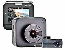 "Dash Cam Cobra CCDC 4500 In Car  Dual Front & Rear Facing HD CCTV 2"" 1296P LCD"