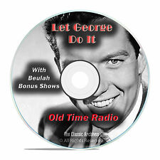 Let George Do It, 713 Classic Old Time Radio Drama Shows, OTR mp3 DVD G17